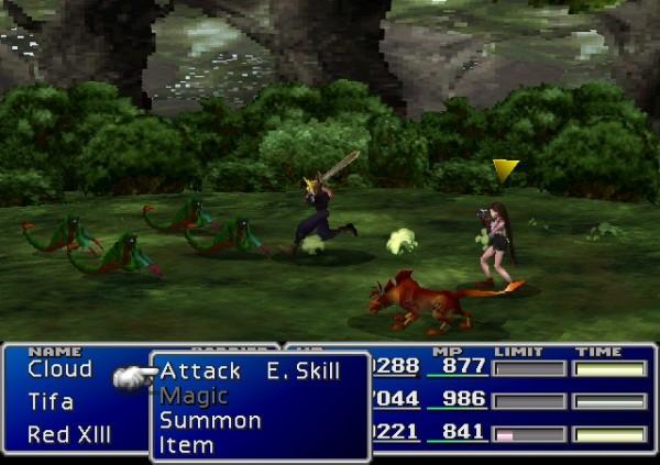 FF7 screenshot