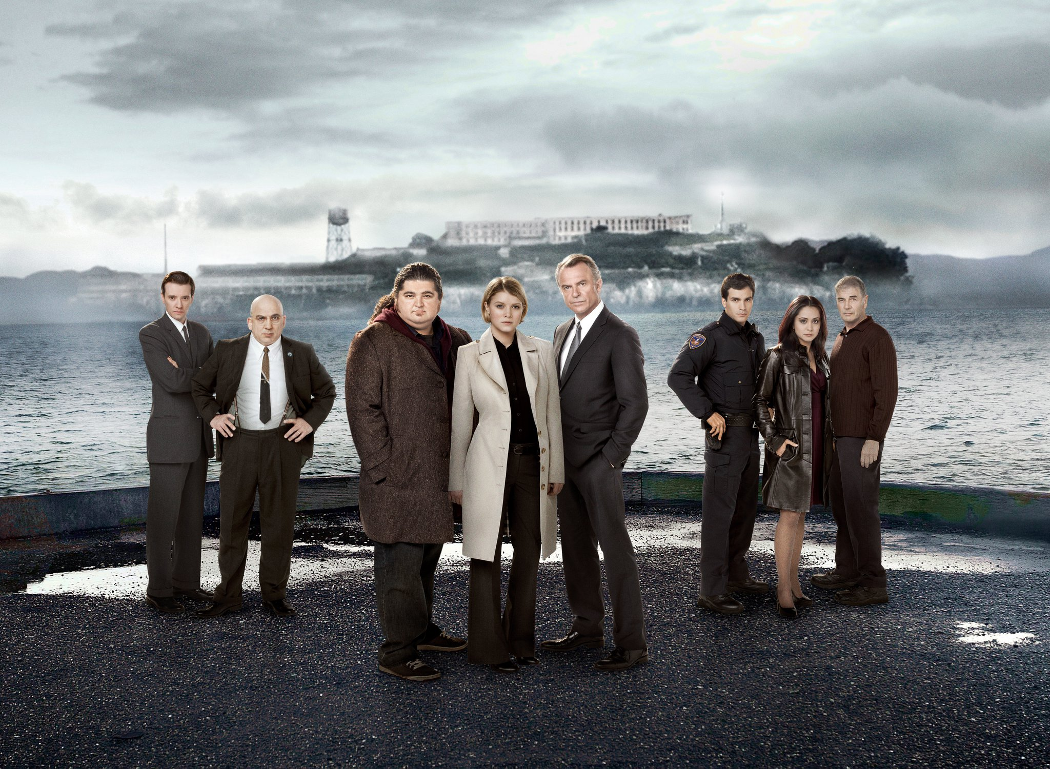 The main cast of Fox&#039;s Alcatraz