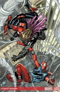 Spider Man And Scarlet Spider Vs Kaine