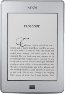 Kindle Touch Display
