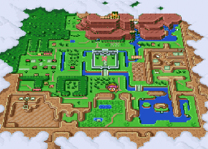 Light World Map - A Link To The Past