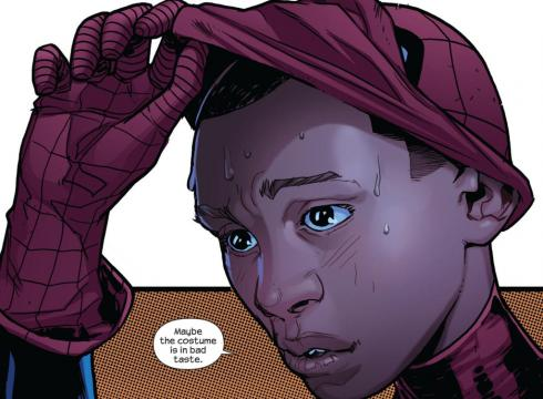 Miles Morales Unmasks for first time Ultimate Spider-Man