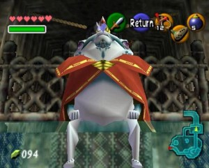 King Zora - Ocarina Of Time