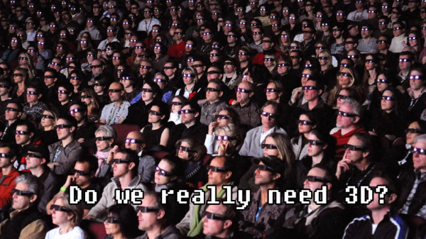 Do we really need 3D?