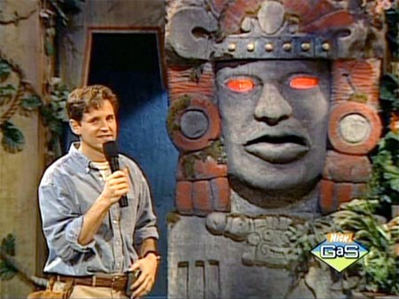 Legends of The Hidden Temple - Kurt Fogg and Olmec