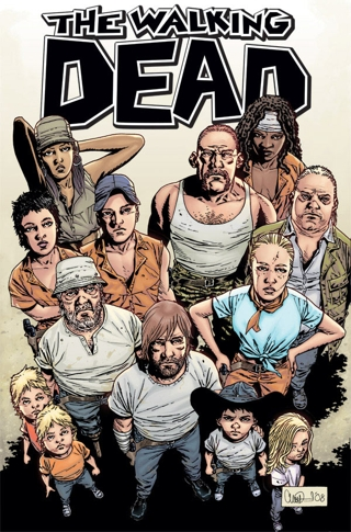 The Walking Dead - Comic Cast