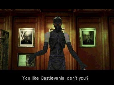 Psycho Mantis reads your mind - Metal Gear Solid