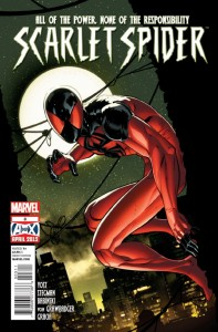 Scarlet Spider 3 - Cover
