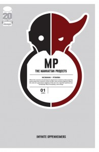 The Manhattan Projects 1 cover