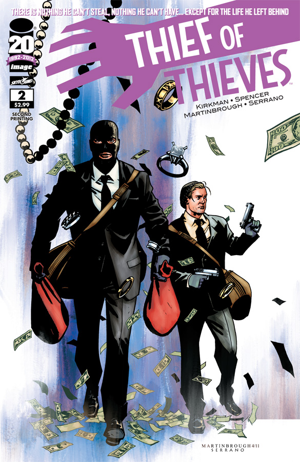 Thief of Thieves 2 Second Print Cover