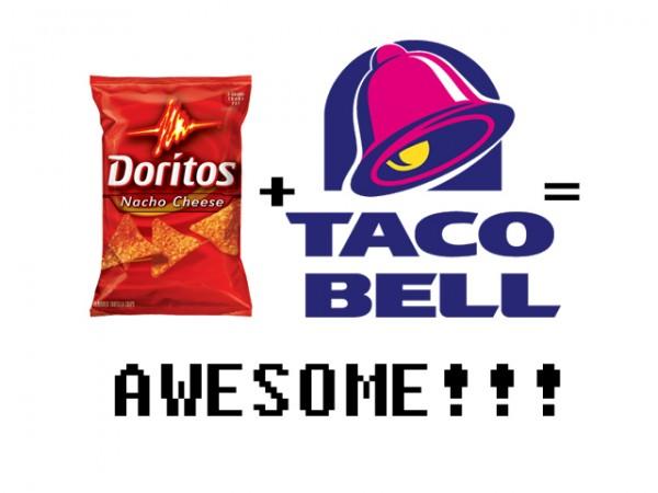 Doritos + Taco Bell=Awesome!