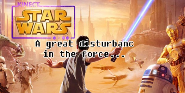 A great disturbance in the force…