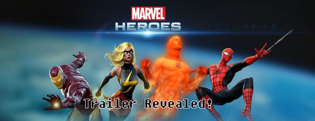 Marvel MMO Trailer Revealed!