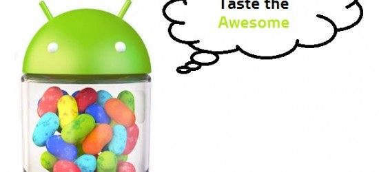 Android 4.1 Jellybean - Taste the Awesome