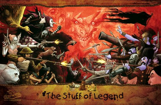 The Stuff of Legend…Movie?