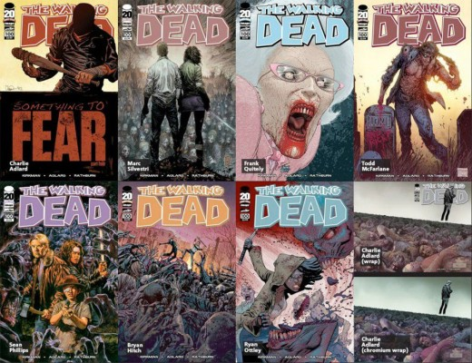Walking Dead #100 - Covers