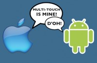 Andoid vs Apple - Multitouch