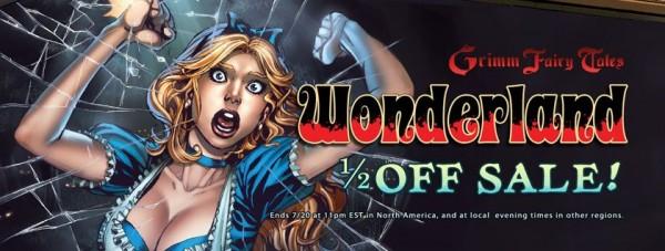 Zenescope Celebrates Wonderland TV Series with Half Off Digital Sale!