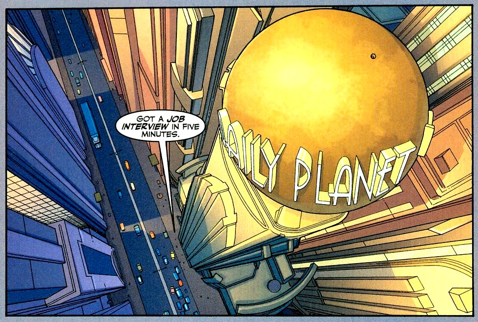 The Daily Planet in Metropolis