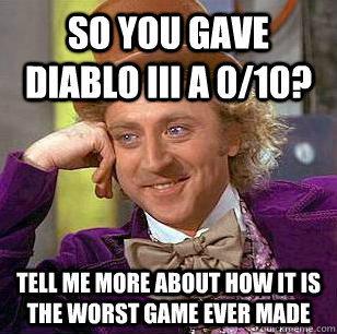 Diablo III: Nerds gonna whine!