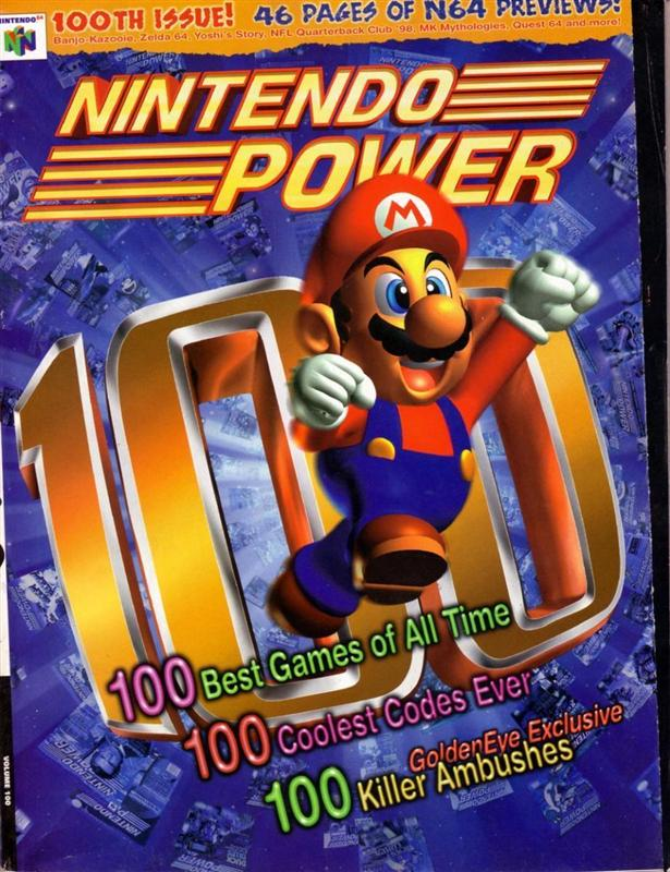 Issue 100 of Nintendo Power