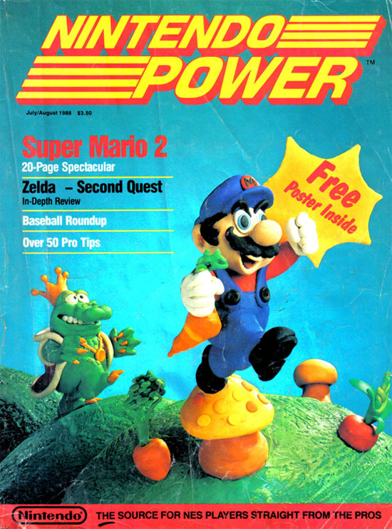 The Very First Issue of Nintendo Power 1988