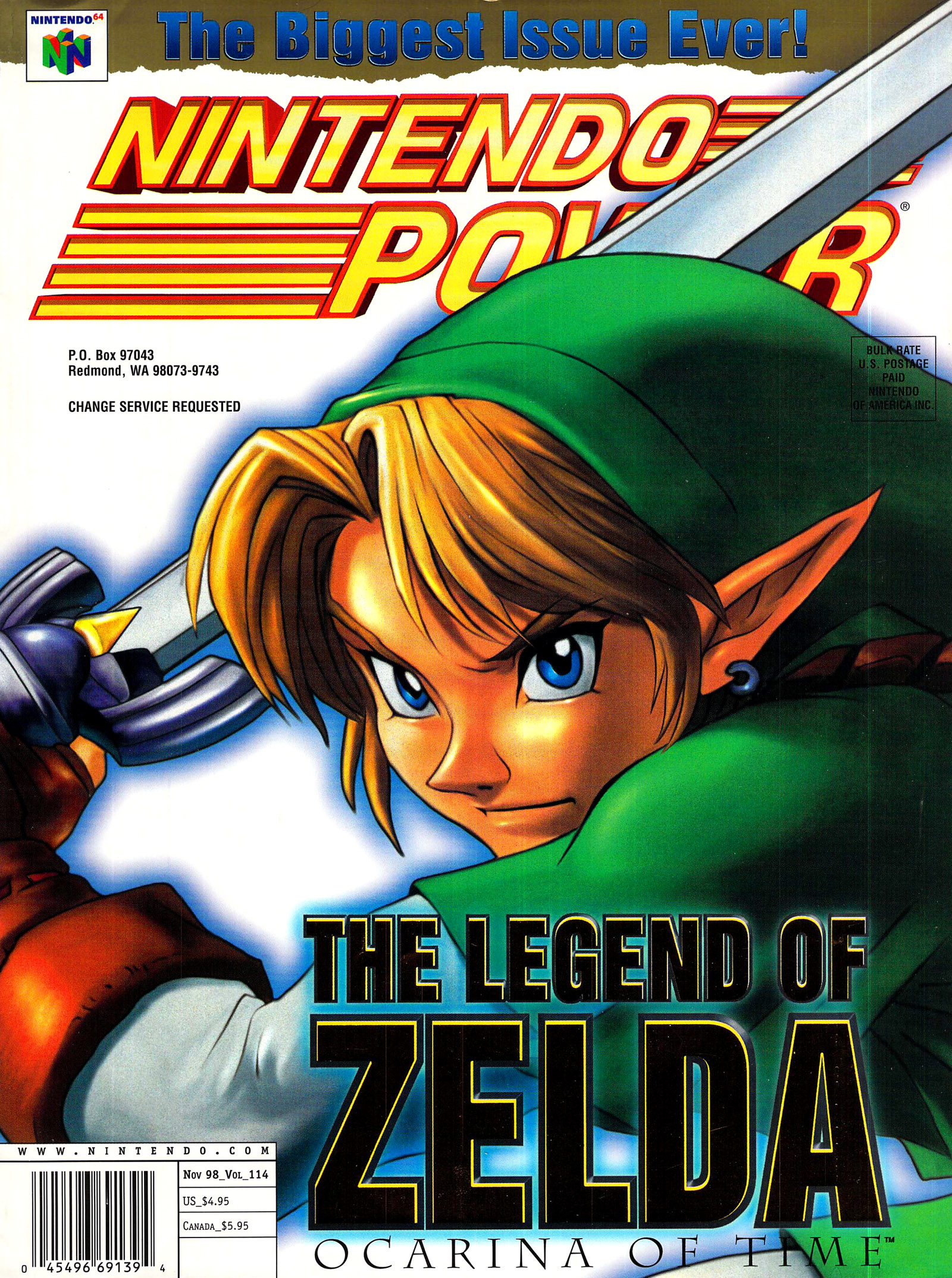 Nintendo Power Magazine V220 October 2007
