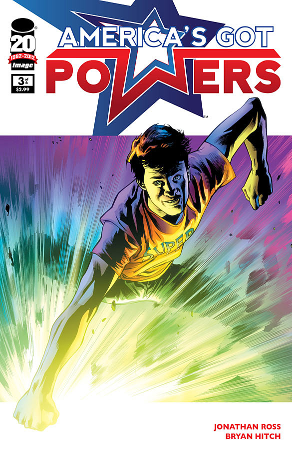 The third issue of America's Got Powers