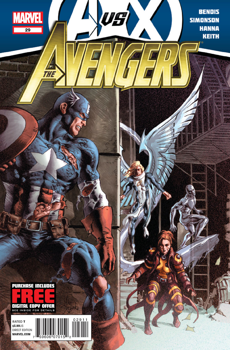 Cover for AvX Tie-In Avengers issue 29
