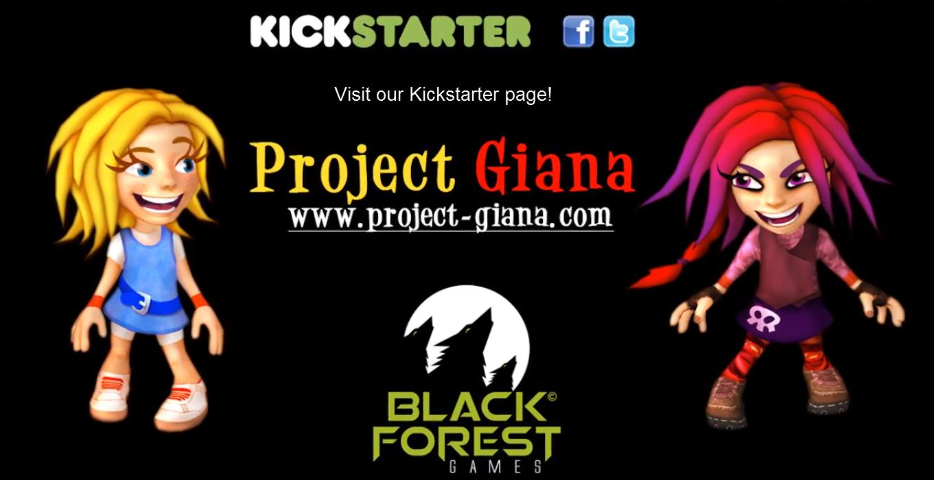 project giana kickstater