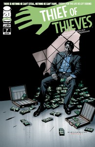 Cover from Thief of Thieves 7