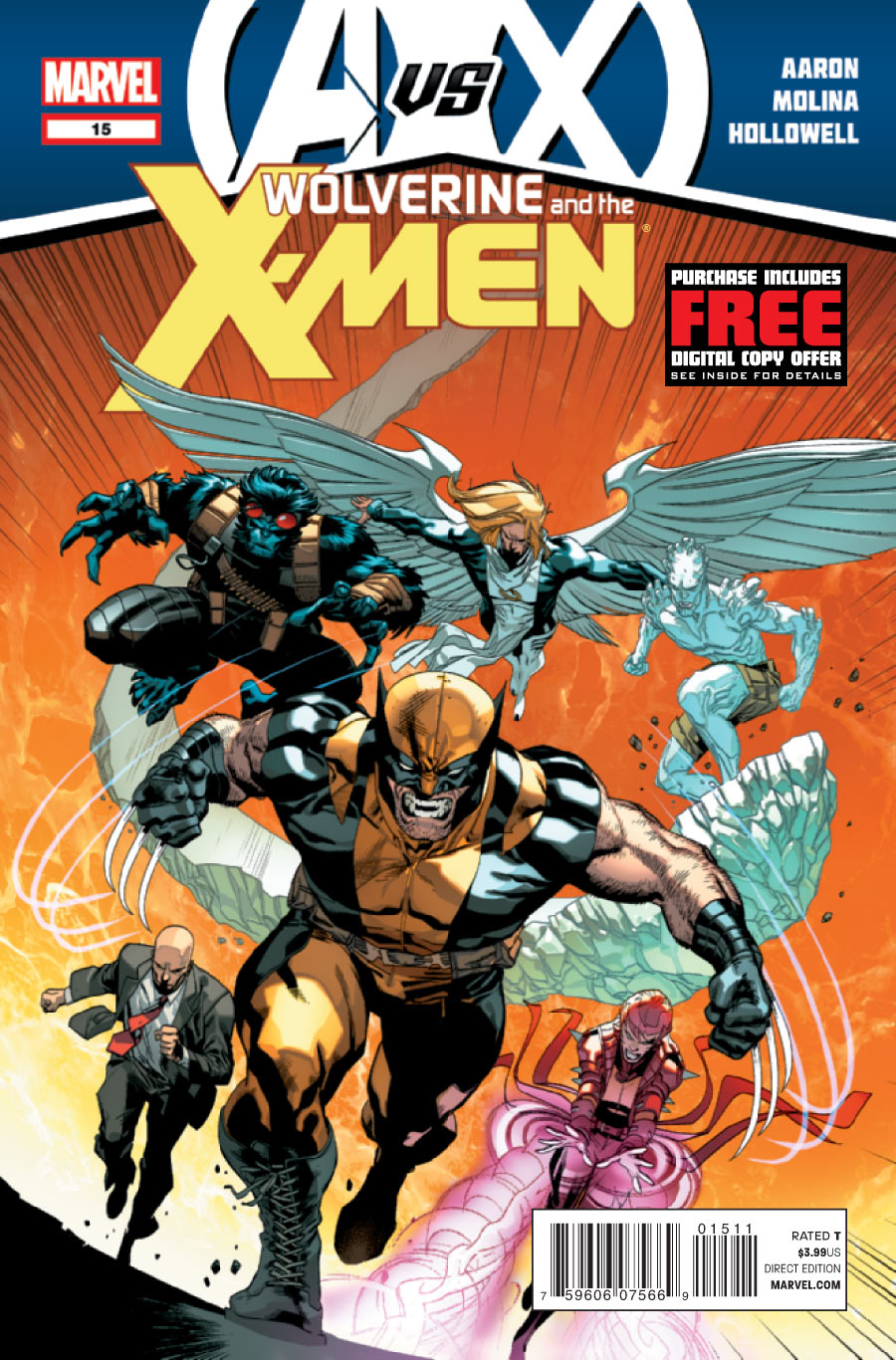 Wolverine And The X-Men 15 Cover
