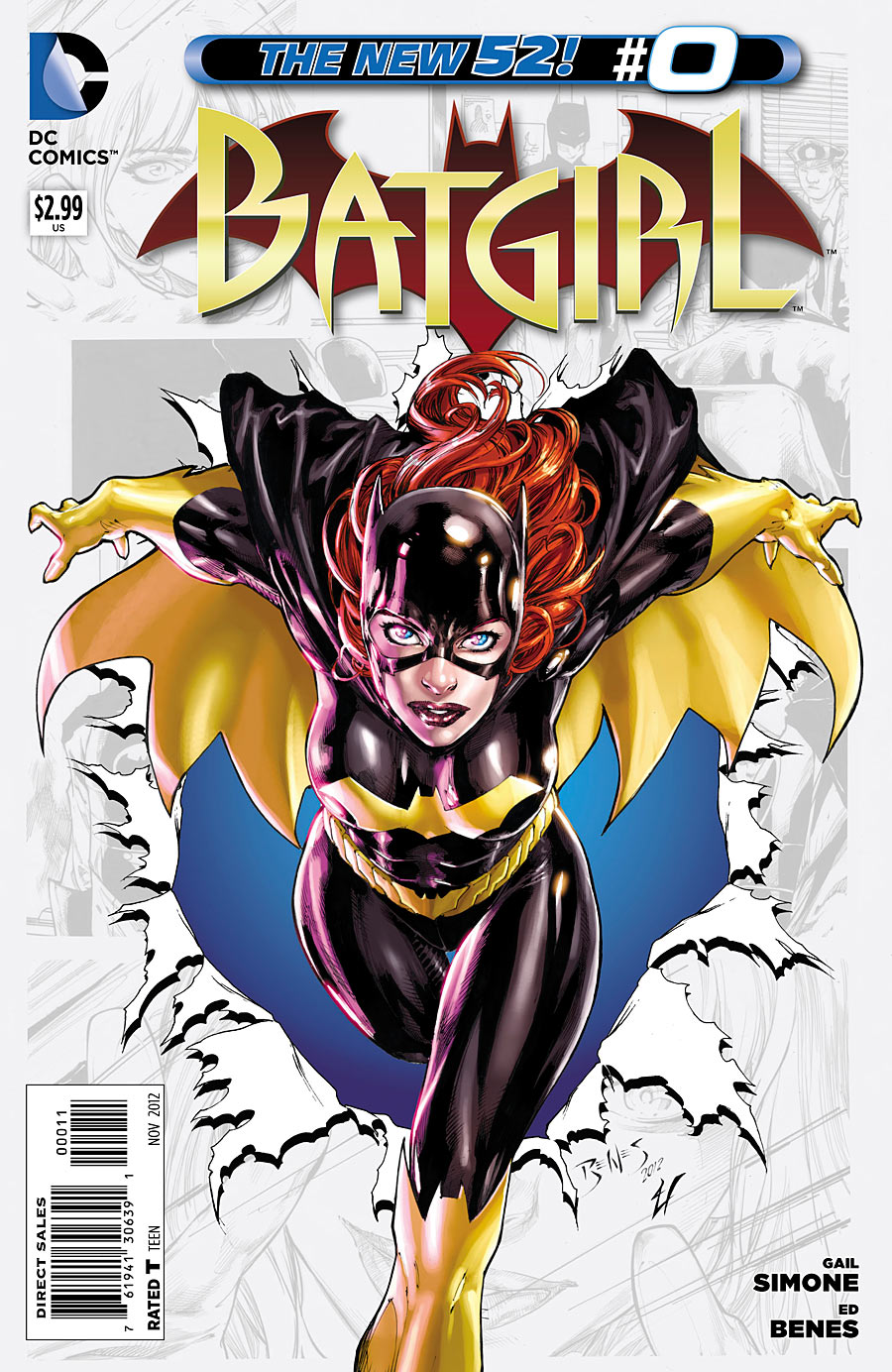 Batgirl 0 issue