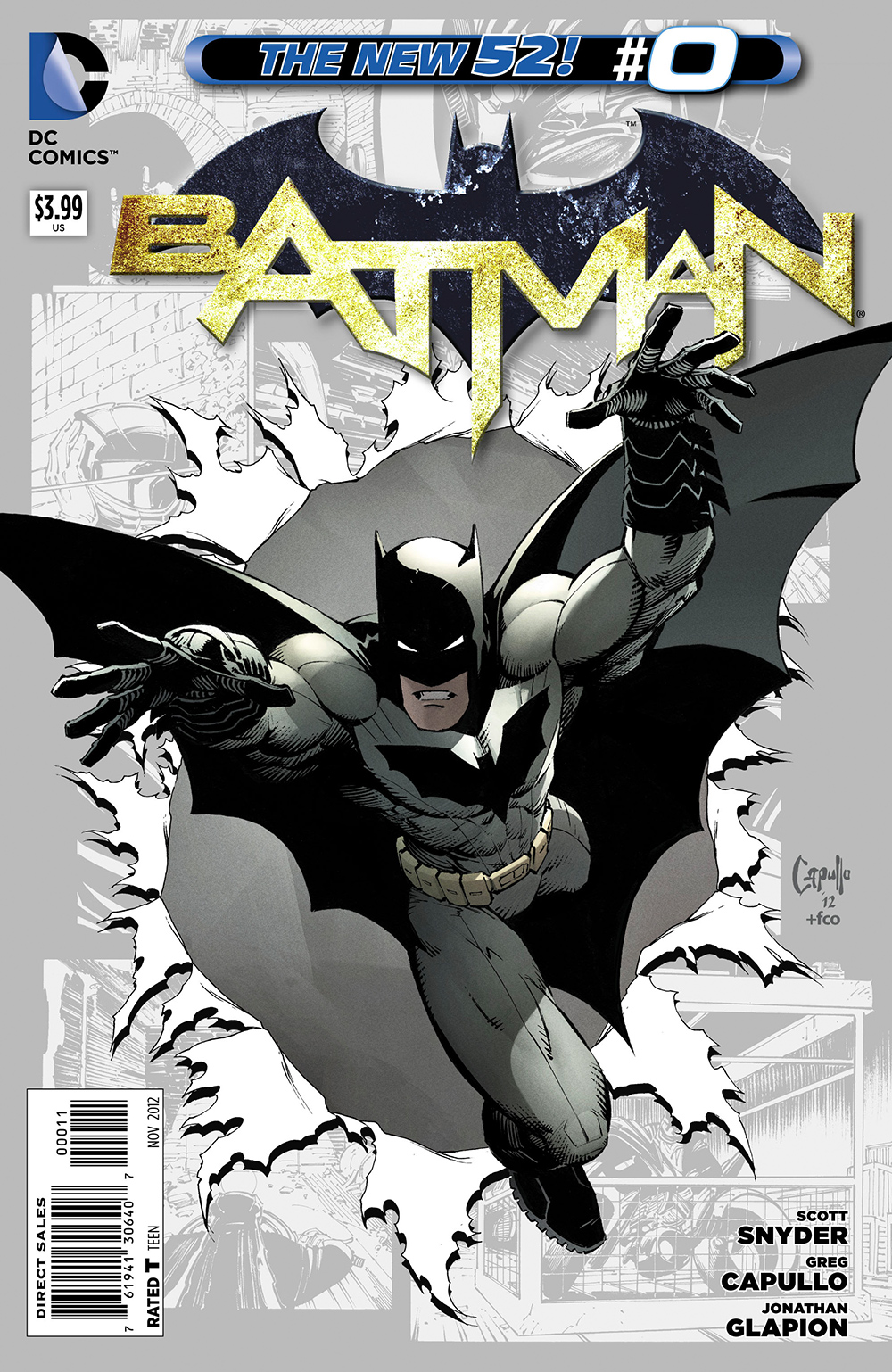 Batman issue 0