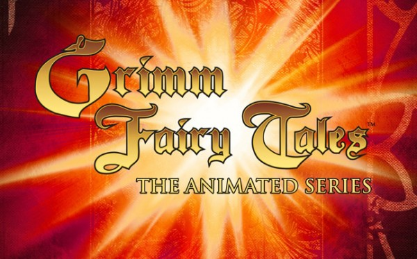 Grimm Fairy Tales Animated Series Logo