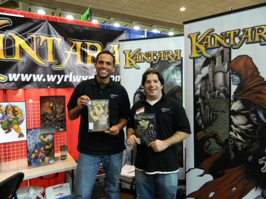 Chris and Mike creators of Kantara