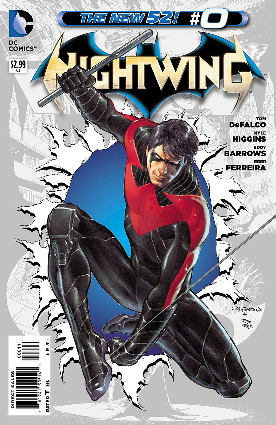Nightwing 0 issue