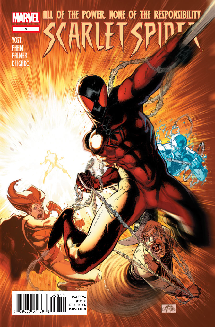 Scarlet Spider number 9