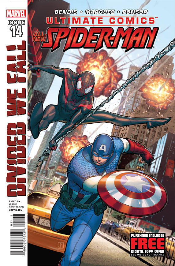 Ultimate Comics Spider-Man 14 Cover