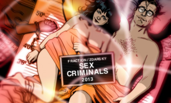 Partial Cover of Sex Criminal from Image Comics