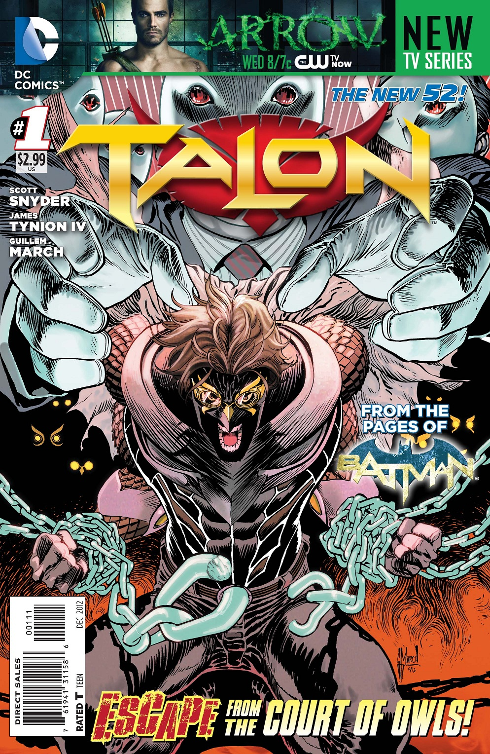 Talon number 1