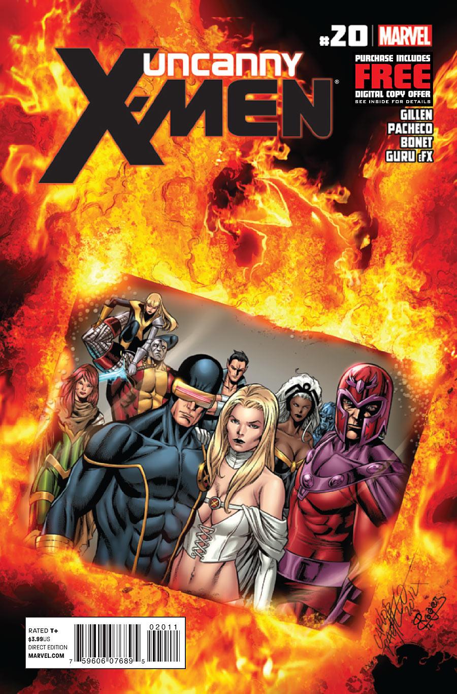 Uncanny X-Men 20 Final Issue