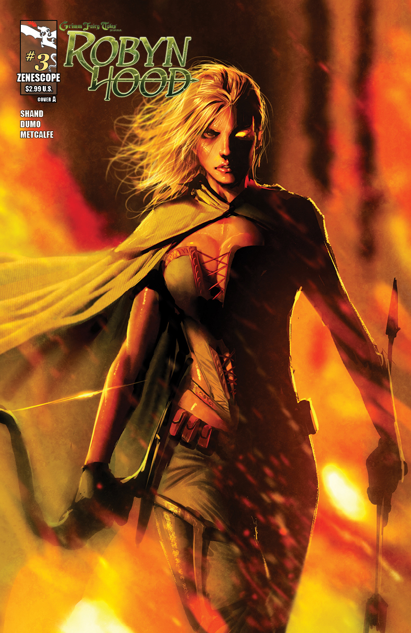 Review – Grimm Fairy Tales Presents: Robyn Hood #3
