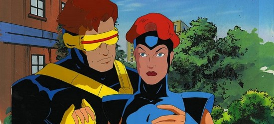 X-Men Original Animation Cel