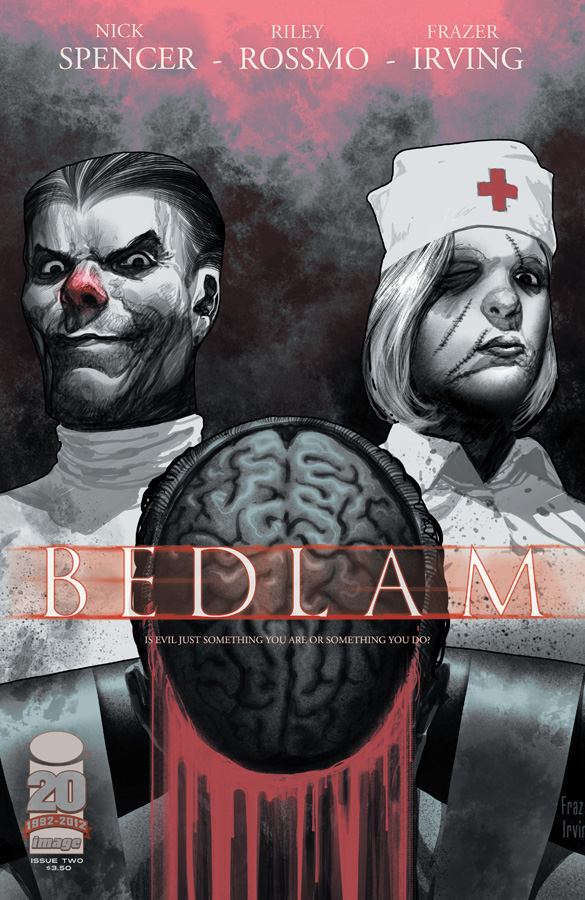 Bedlam issue 2 cover