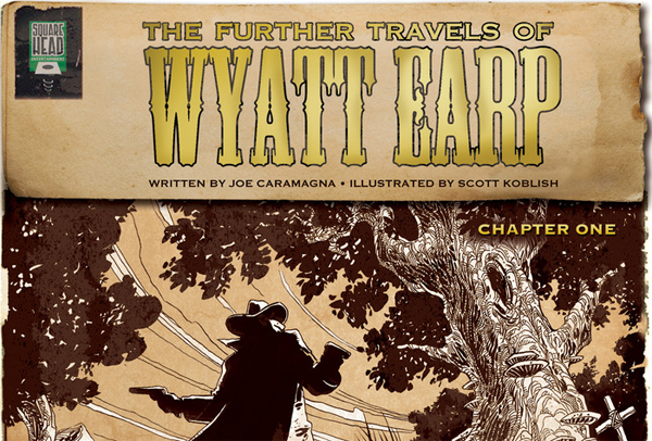 Kickstarter – The Further Travels of Wyatt Earp