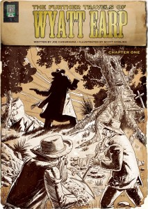 The Further Travels of Wyatt Earp Cover