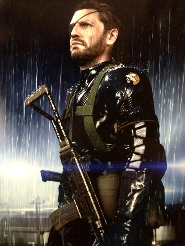 Big Boss in MGS Ground Zeroes