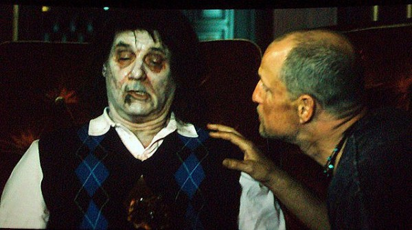 Bill Murray in zombie makeup from Zombieland