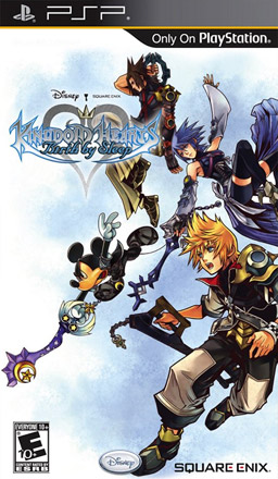 Kingdom Hearts Birth by Sleep Boxart for the Sony PSP
